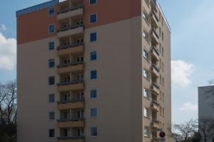 Fassadenfarbe mit hoher Wasserdampf- und CO2-Durchlässigkeit